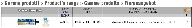 V-PLUS TROPICAL_gamma