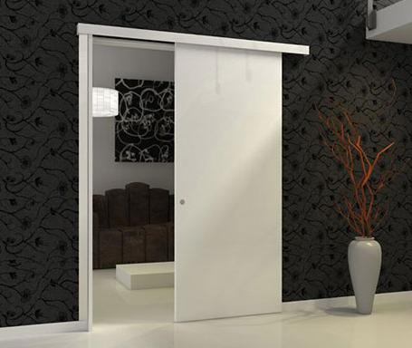 Kit woody for Installer une porte coulissante en applique